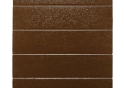 Acanalado - Textura Madera - Marron Ral 8014