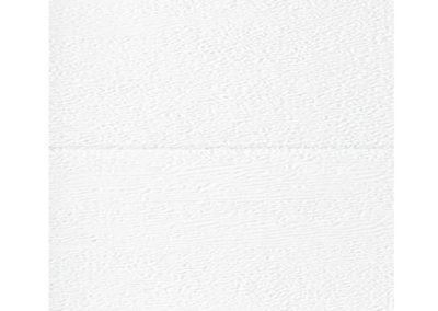 Canal central aluminio - Textura Madera - Blanco Ral 9030
